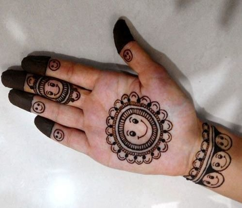 25 Mehndi Designs For Kids That Are Simple Yet Attractive