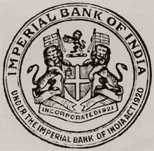 Imperial Bank of India logo