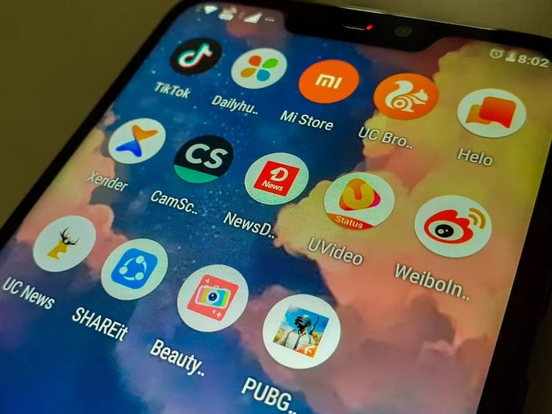 chinese apps banned