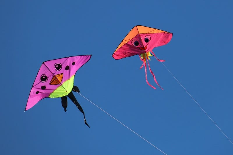 Kites were not invented by China