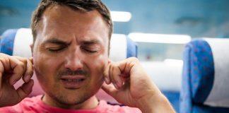 ear pain in flight