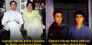 Vikram Batra Father and brother