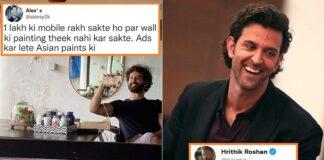 Hrithik Roshan reply fans for seelan wall