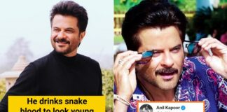 anil kapoor snake drink to look young